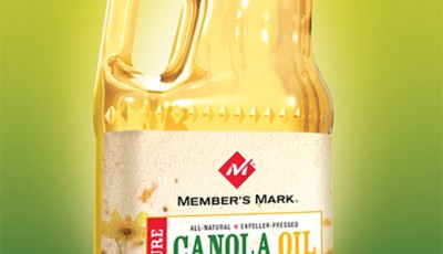 Canola Oil - package rendering by Joe Condon