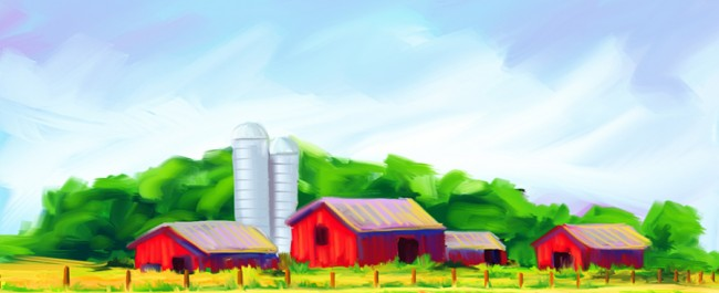 Joe Condon - Digital Paintings - Farm