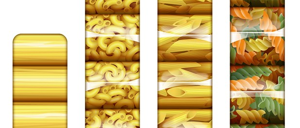 Pasta Vector Illustration Joe Condon