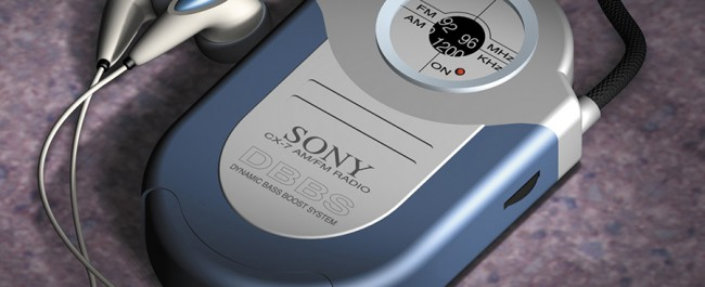 Joe Condon - Walkman - 3D Illustration