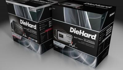 DieHard - Package Renderings by Joe Condon