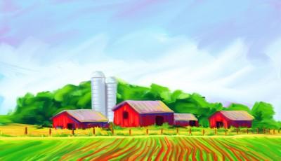 Joe Condon - Digital Paintings - Farm